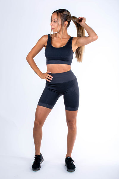 Nyssa Sport Bra Black - Own-Wear