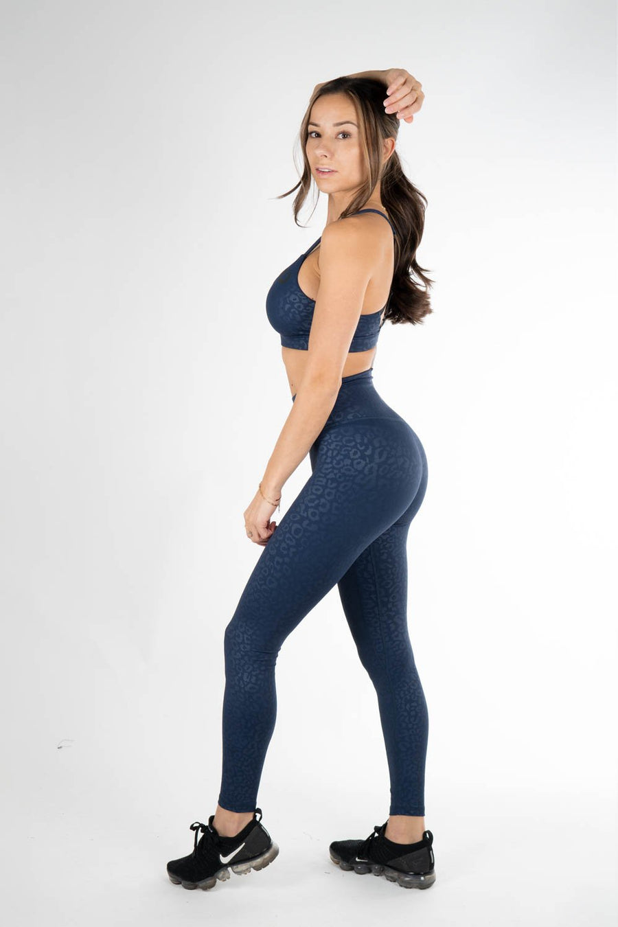 Blue Leopard Legging - Own-Wear