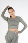 Ziva Crop top Olive - Own-Wear