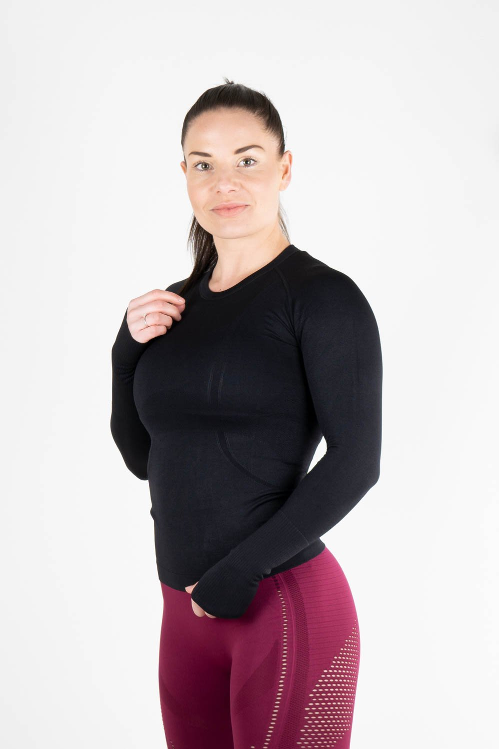 Nova Long sleeve Black - Own-Wear