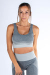 Nyssa Sport Bra Light Grey - Own-Wear