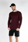 ENDO long sleeve burgundy - Own-Wear