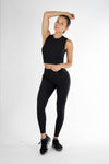 Sculpt Ribbed Legging - Own-Wear