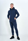 ONIX ZIP-UP HOODIE NAVY BLUE - Own-Wear