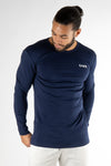 ENDO long sleeve navy blue - Own-Wear