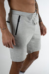 TECH shorts light grey - Own-Wear