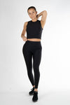 Sculpt Ribbed Crop top - Own-Wear