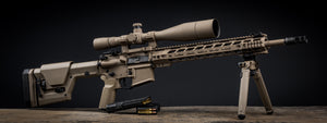 COMPLETE AR RIFLE (UPPER, LOWER, AND RAIL)