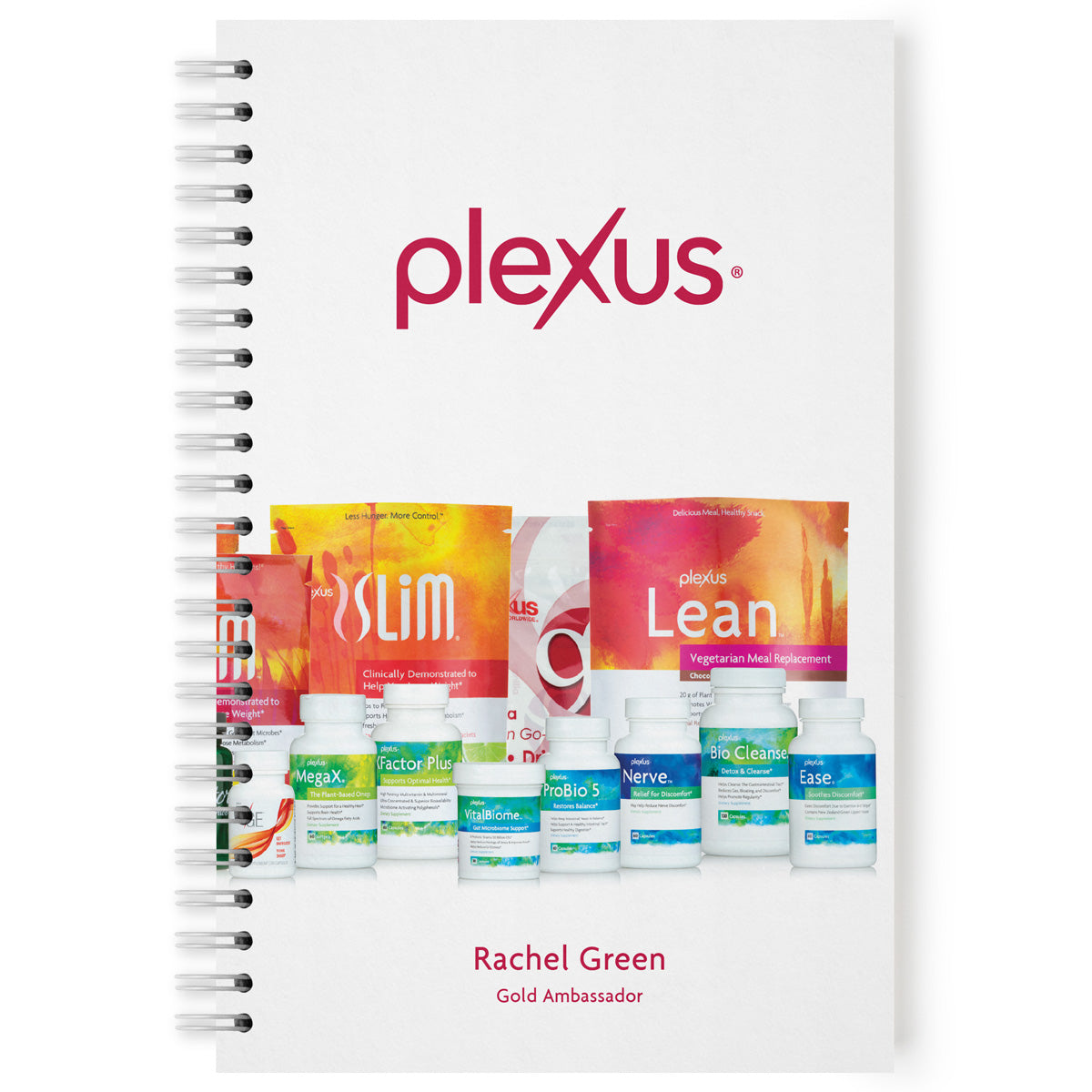 Plexus® All Products Notebook