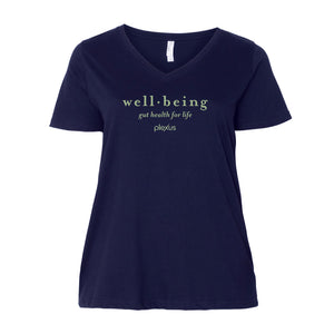 Ladies Well-Being Curvy V-Neck
