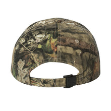 Load image into Gallery viewer, Mossy Oak® Camo Hat - Pink Glitter Plexus® Logo