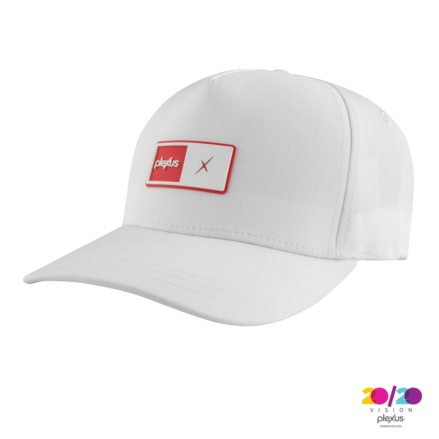 White Rectangle Patch Hat
