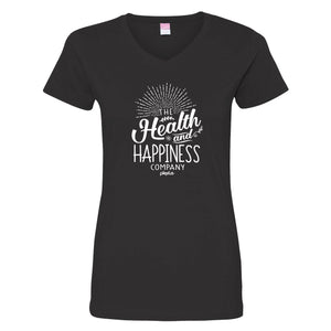 """The Health and Happiness Company"" V-Neck"