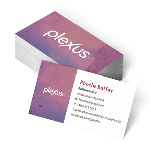 Plexus® Minimal Business Card