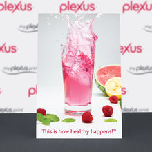 Load image into Gallery viewer, Plexus® This is How Healthy Happens! Table-top Poster