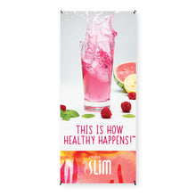 Load image into Gallery viewer, Plexus Slim® This is How Healthy Happens!™ Banner
