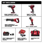 M18 18-Volt Lithium Ion Cordless Combo Tool Kit (4 Tool)