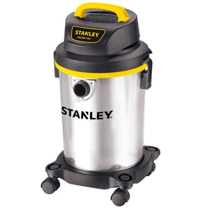 4 Gallon, Stainless Steel, 4 Horse Power Wet/Dry Shop Vacuum