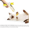 PetCustomGift Rebound Cat Stick  yellow