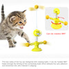 Cat mint ball turntable toy