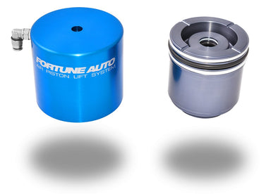 Fortune Auto 500 Series Coilovers with Air Piston Lift System - 350Z (Z33)-Canada