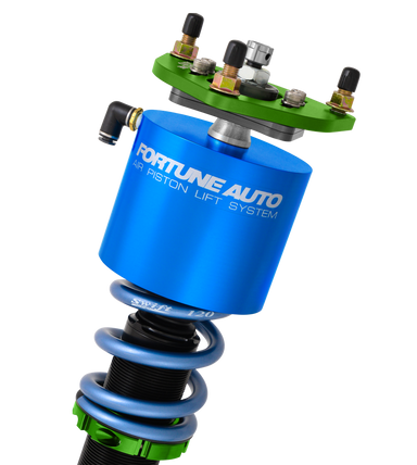 Fortune Auto 500 Series Coilovers with Air Piston Lift System - Silvia 180SX (S13)-Canada