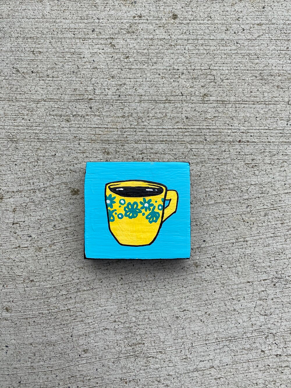 MINI PAINTING no. 4 (Coffee)
