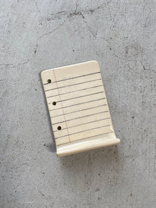Ceramic Notepad