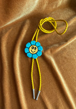 Load image into Gallery viewer, BOLO no. 12 (Blue Smiley Flower)