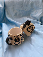 Load image into Gallery viewer, Mixed Emotion Carved Mug