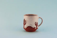 Load image into Gallery viewer, White Cactus Mug