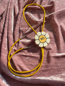 BOLO no. 09 (White NO flower, yellow cord)