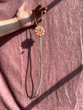 Load image into Gallery viewer, BOLO no. 07 (Sad flower, green cord)