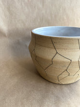 Load image into Gallery viewer, SECONDS SALE - Cracked marbled planter/vase