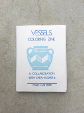 Load image into Gallery viewer, Vessels Coloring Book Zine