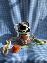 Load image into Gallery viewer, Waxed Cow Mug