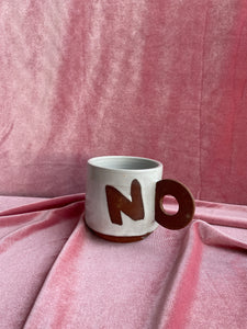 SECONDS SALE - NOPE mug