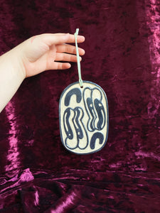 CERAMIC WALL HANGING no. 01