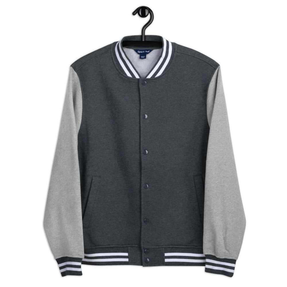 The Retreat at Deer Lick Falls Men's Letterman Jacket - The Retreat by Oakstone