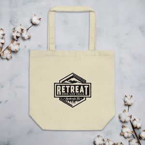 The Retreat at Deer Lick Falls Eco Tote Bag - The Retreat by Oakstone