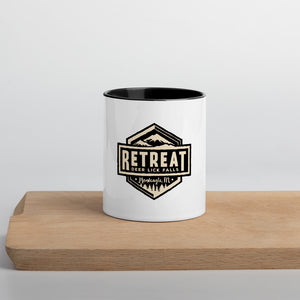 The Retreat at Deer Lick Falls Colored Mug - The Retreat by Oakstone