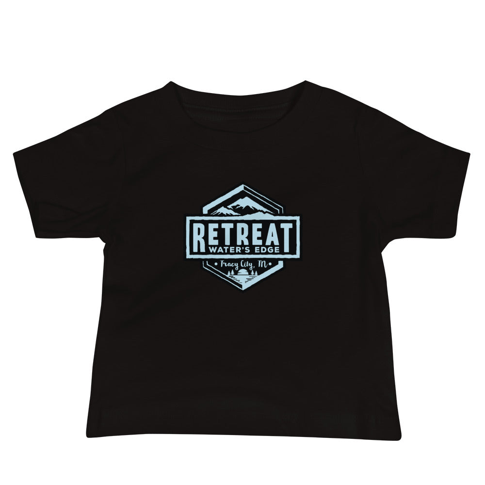 The Retreat at Water's Edge Baby Jersey Short Sleeve Tee - The Retreat by Oakstone