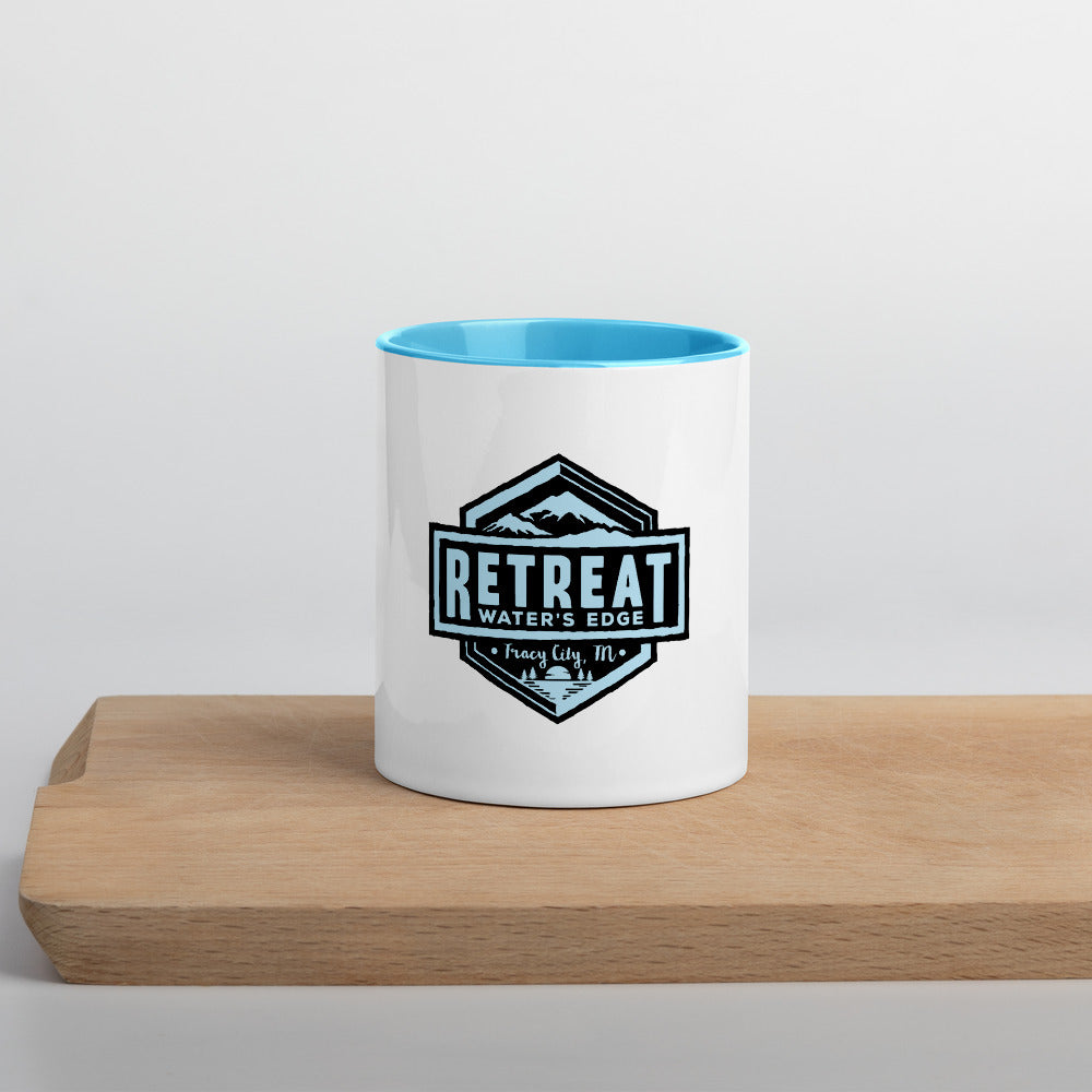 The Retreat at Water's Edge Colored Mug - The Retreat by Oakstone