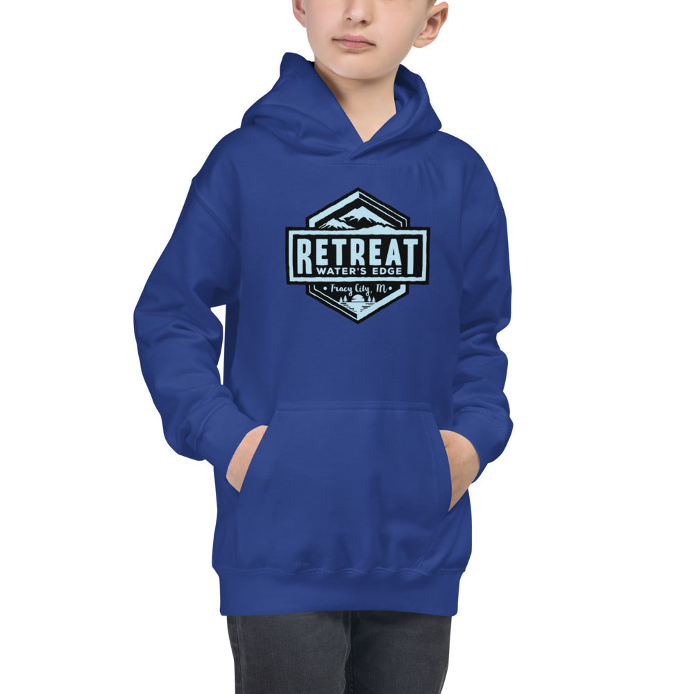 The Retreat at Water's Edge Kids Hoodie - The Retreat by Oakstone