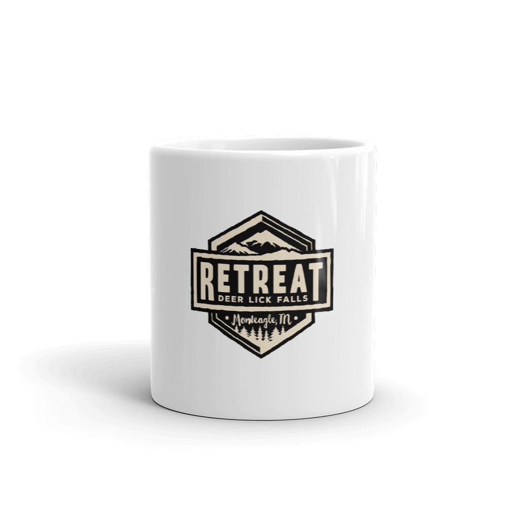 The Retreat at Deer Lick Falls Mug - The Retreat by Oakstone
