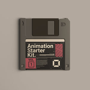 ANIMATION STARTER PACK. VOL #1.