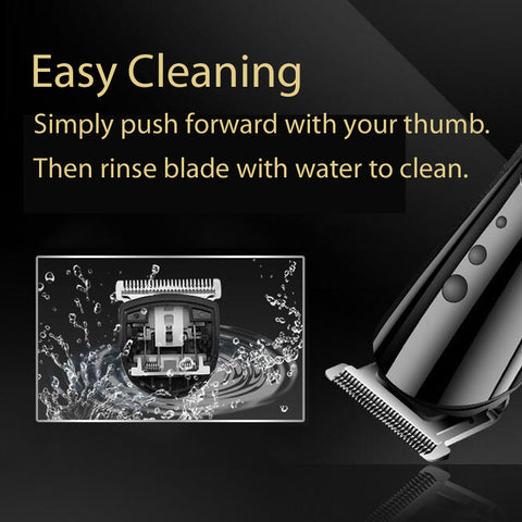 Brochure - BarberMate™ Hair and Beard Trimmer Cordless Electric Hair Clippers for Men's Haircuts and Grooming