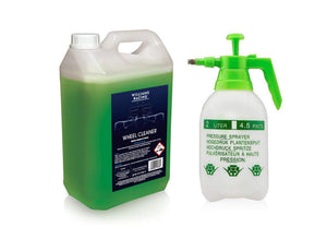 Williams Racing 5L Wheel Cleaner plus 2 Ltr Pump Sprayer for easy application