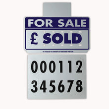 Load image into Gallery viewer, The Magnet Shop Car/Vehicle For Sale Visor Signs (Blue)