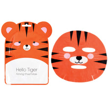 Load image into Gallery viewer, Hello Tiger Korean Made Firming Sheet Face Mask